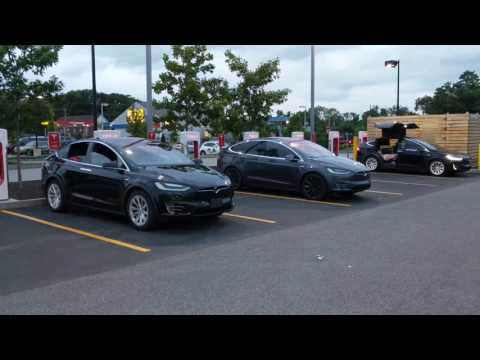 Tesla Supercharger | Seabrook, New Hampshire