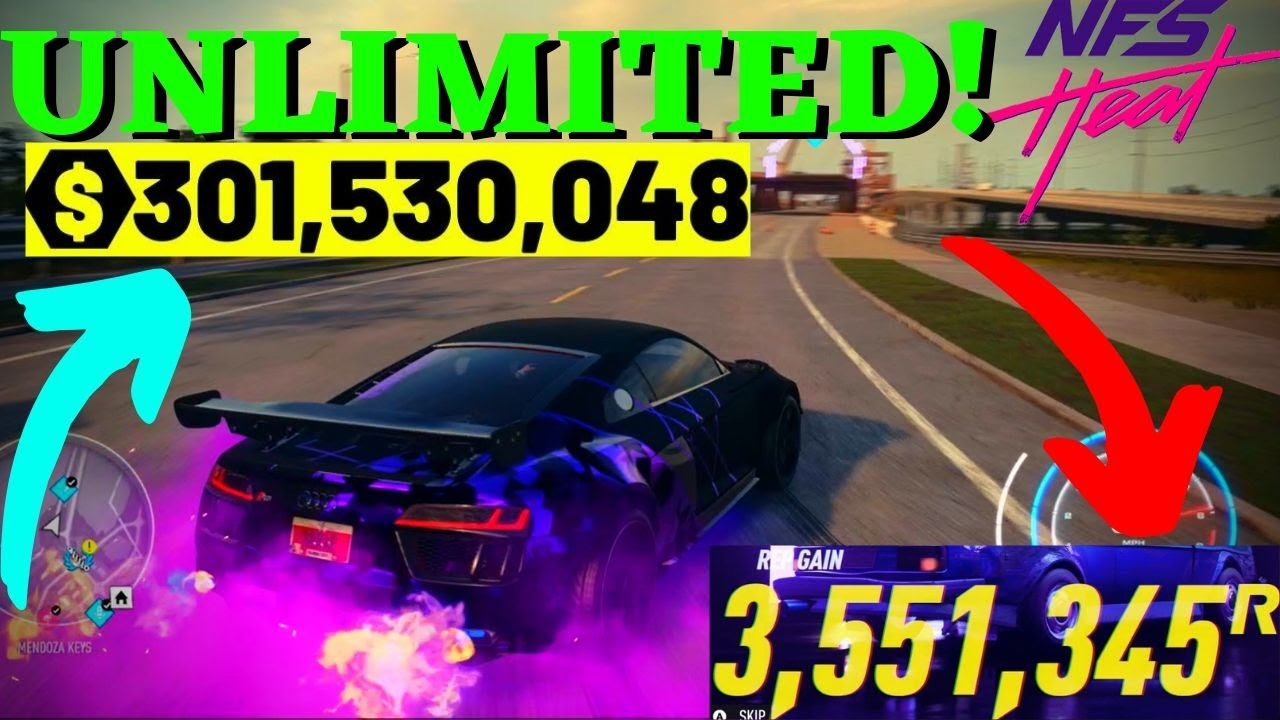 Unlimited Money Rep In Nfs Heat Need For Speed Heat Money