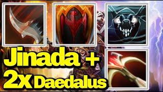 Insane Clockwerk With [Jinada + Critical Strike ]|| Ability Draft || Dota 2