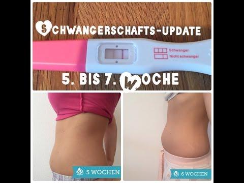 Schwangerschaftsupdate 5 Bis 7 Woche Anzeichen Beschwerden