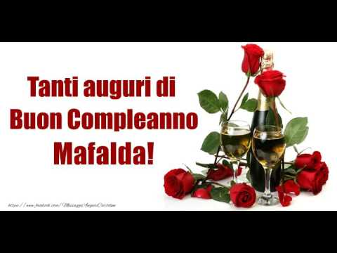 Buon Compleanno Mafalda Youtube