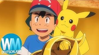 Top 10  der größten Siege von Ash Ketchum (Pokemon)