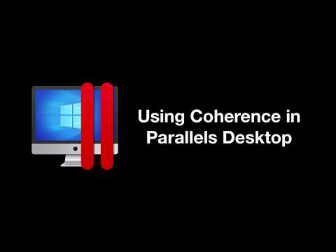 Coherence View Mode In Parallels Desktop For Seamless Windows Experience On The MacOS
