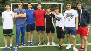 EPIC CROSSBAR CHALLENGE CON YOUTUBERS!