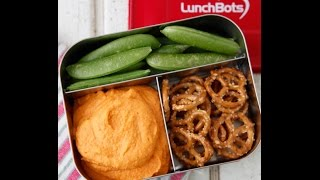 Red Bell Pepper Hummus - Healthy Dip Recipes - Weelicious