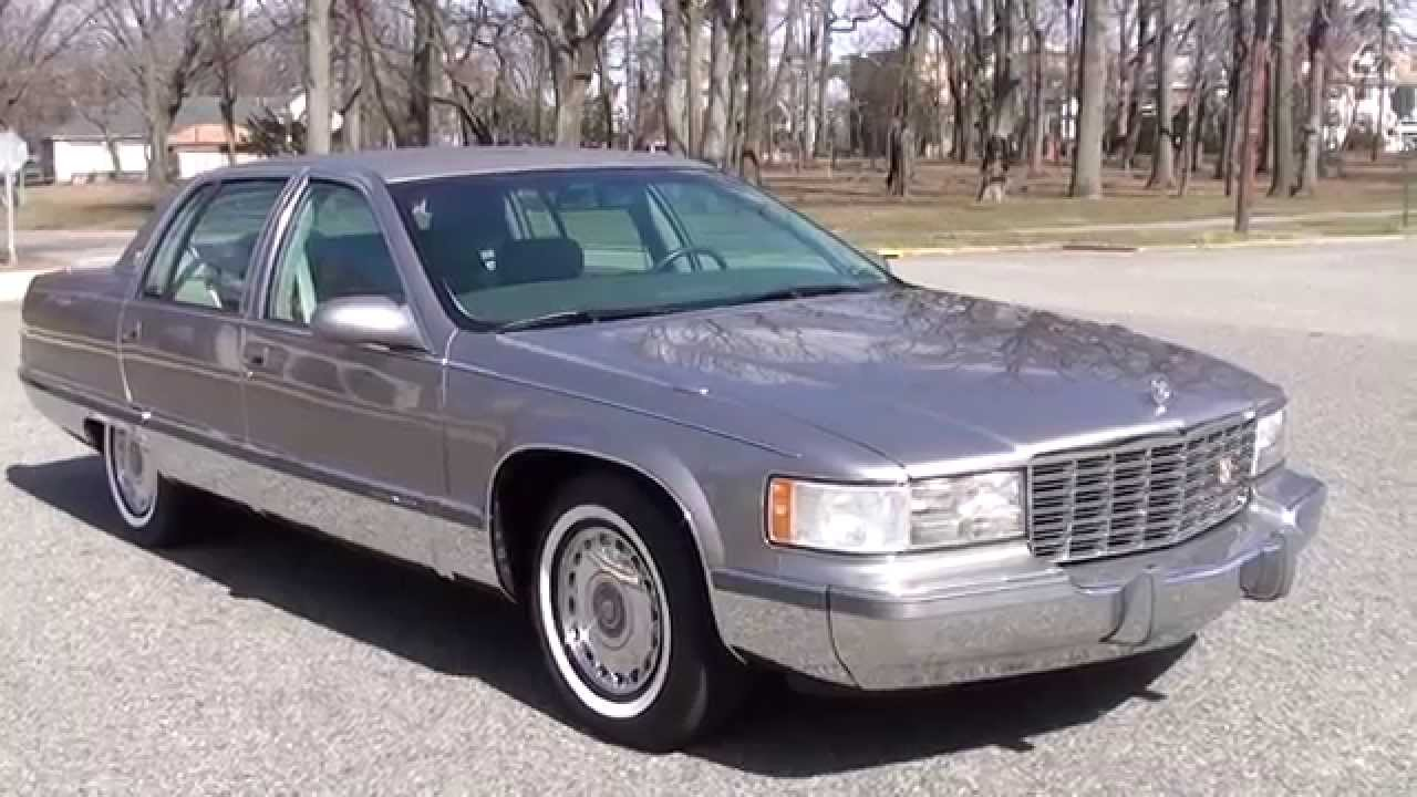 1995 Cadillac Fleetwood >> 1995 Fleetwood Brougham In Pristine Condition Walk Around