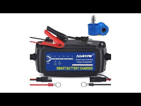 Automatic Smart Battery Charger Automotive Maintainer