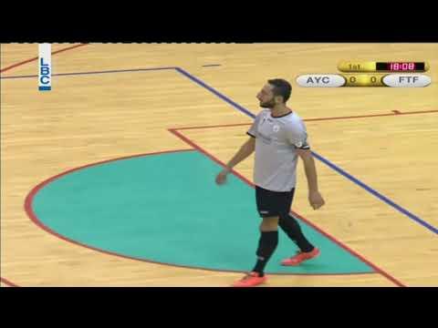 Lebanese Futsal Championship Season 2016/2017 - Achrafiye youth v/s Tripoli Fayhaa