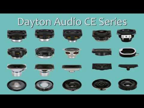 Dayton Audio CE Series Speakers