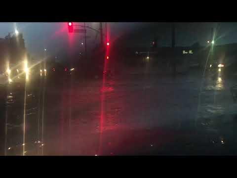 Raining at San Fernando valley,CA