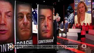 Giorgia Meloni interviene da Mario Giordano a Fuori dal Coro su Rete4. Non perdetela!