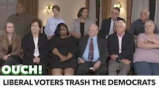 Liberal Voters Trash The Democratic Party On 'Face The Nation'