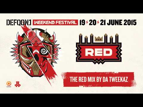 The colors of Defqon.1 2015 | RED mix by Da Tweekaz