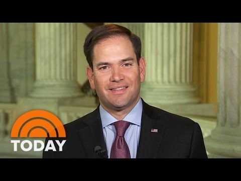 Marco Rubio On Donald Trump: 'This Is The Position I Didn't Want Us To Be In' | TODAY