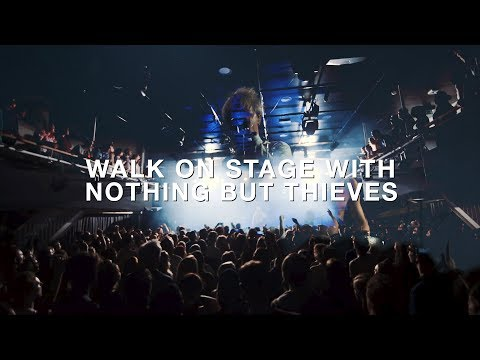 Walk on stage with Nothing But Thieves in Amsterdam