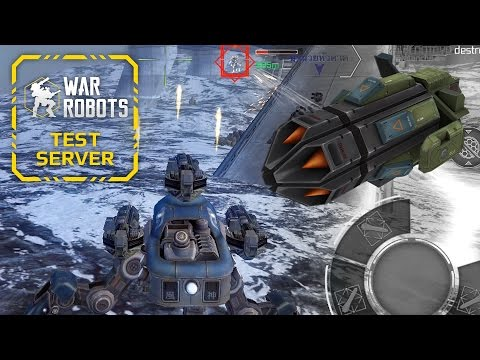 Hydra Gets ANOTHER Buff - Test Server - War Robots
