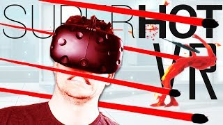 Best VR FPS Yet?! - SUPERHOT VR Gameplay - SUPERHOT VR HTC Vive
