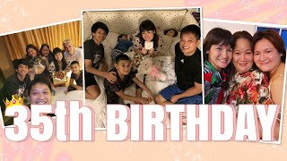 MY BIRTHDAY VLOG | Celebrating with the Family | Camille Prats