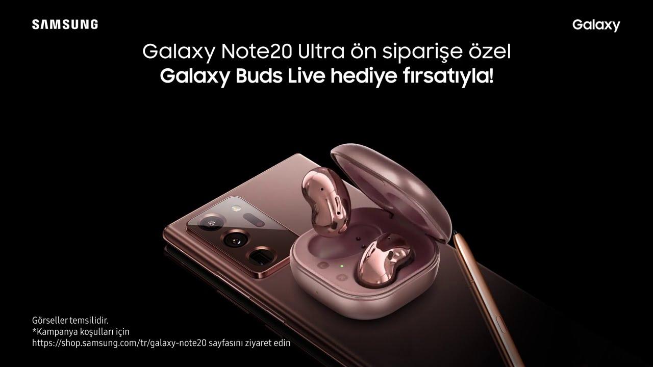 #SeninKadarGüçlü Galaxy Note20 Şimdi Ön Siparişte | Samsung