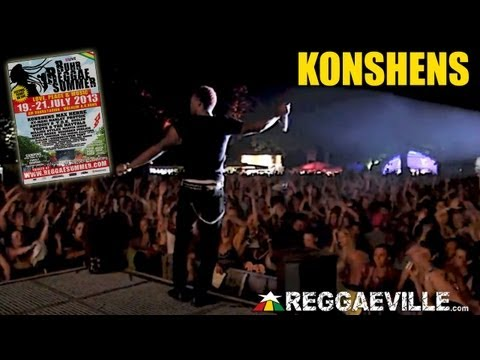 Konshens - Gal A Bubble (Major Lazer Remix) @ Ruhr Reggae Summer 7/19/2013