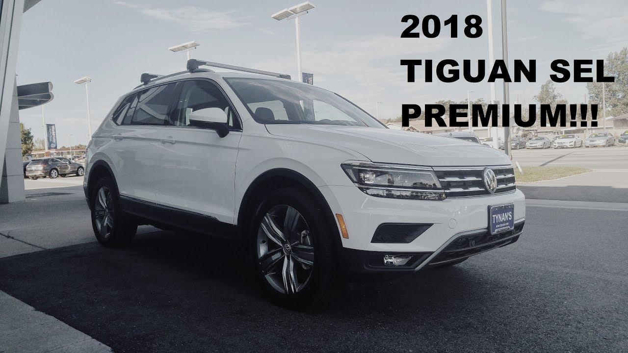 First 2018 Volkswagen Tiguan SEL Premium in Colorado! - YouTube
