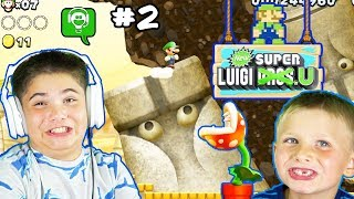 New Super Luigi U Part 2 by HobbyFamilyGaming