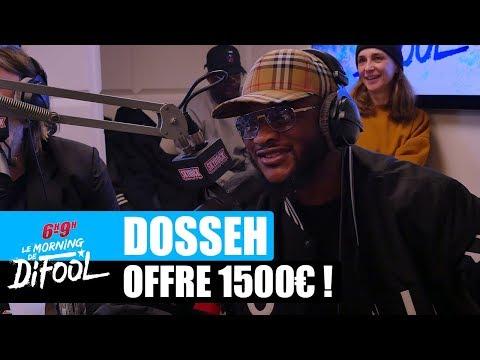 Dosseh offre 1500€ à un auditeur ! #MorningDeDifool