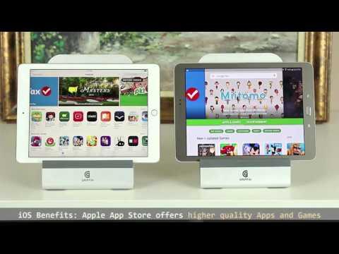 """iPad Pro 9.7"""" vs Samsung Galaxy Tab S2 9.7"""" Full Comparison"""