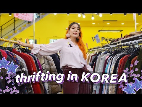 Thrift With Me in Seoul, Korea! | Tips & Mini Try-on
