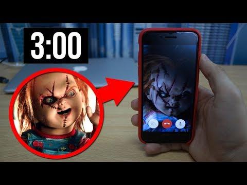 КУКЛА ЧАКИ ЗВОНИТЕ МНЕ В 3:00 НОЧИ! НИКОГДА НЕ ЗВОНИТЕ ТУДА! (ОПАСНО!)