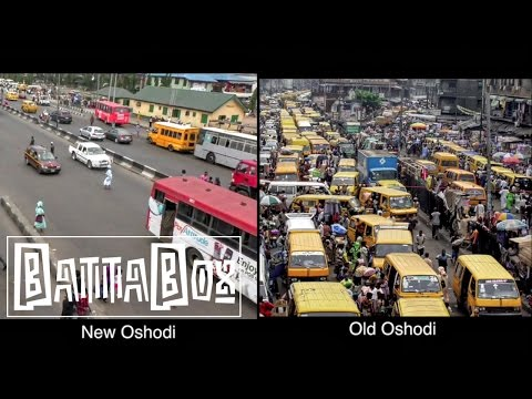 Nigeria: Tour of New vs Old Oshodi Market