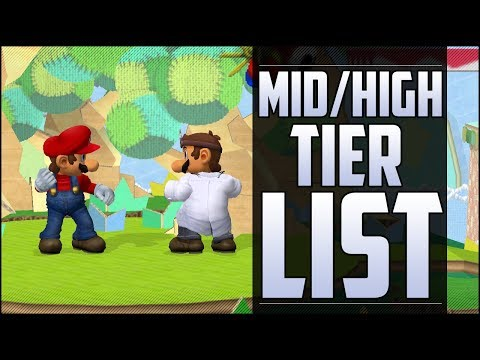 Armada's Melee Mid/High tier list part 3