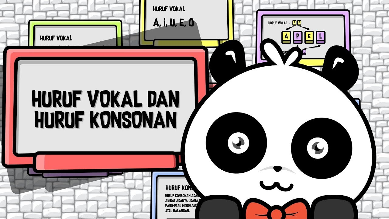 Video Edukasi Anak Pembelajaran Kelas 1 Sd Huruf Vokal Dan Huruf Konsonan Youtube