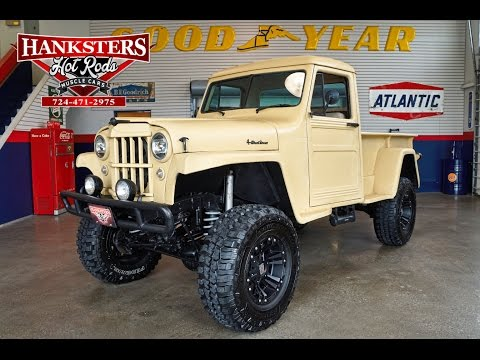1955 Willys Jeep Truck, FDE, 4.0L
