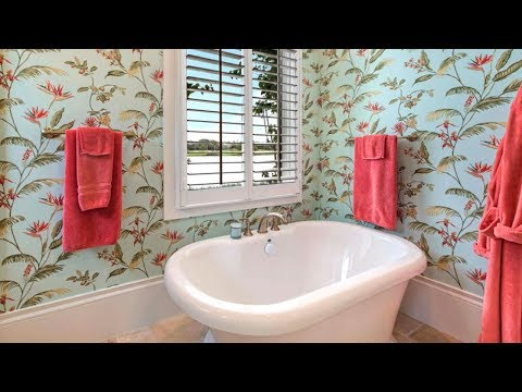 55 Bathroom Wallpaper Ideas