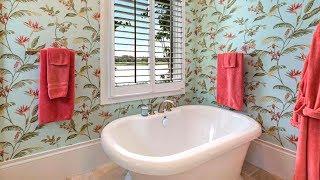 55 Bathroom Wallpaper Ideas