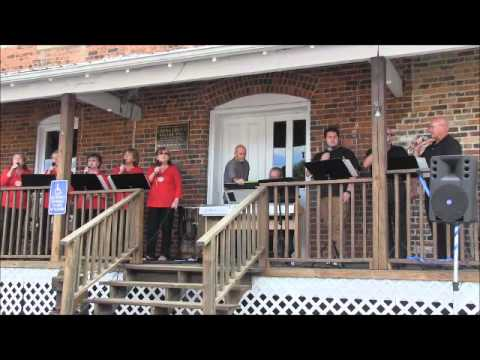 Efird Family Singers 2015 09 13 China Grove Roller Mill Front Porch