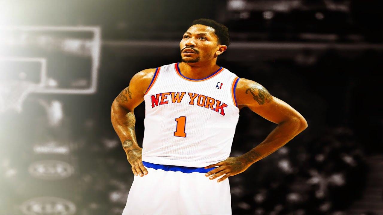 Derrick rose au new york knicks youtube - Derrick rose wallpaper knicks ...