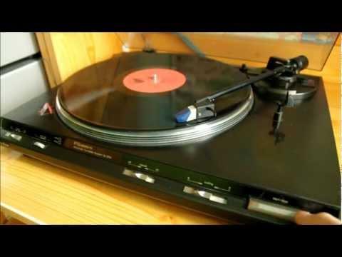 Technics SL-BD3 automatic turntable presentation