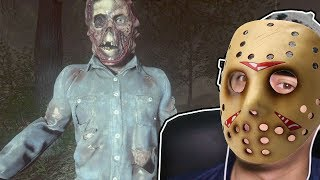 EU VIREI O JASON MAIS BIZARRO - Friday the 13th The Game
