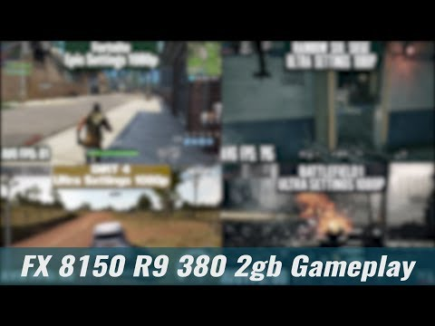 FX 8150 R9 380 2gb 1080p Gameplay