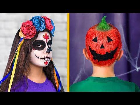 9 Peinados Lindos Para Nios / Peinados Para Halloween