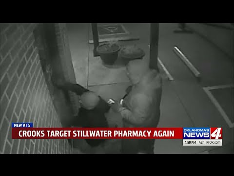 Thieves Disable Alarm System Before Breaking Into Pharmacy