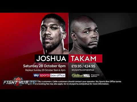 """ANTHONY JOSHUA """"WILDER HASNT HAD ANY MEMORABLE FIGHTS! HE NEEDS A REMARKABLE FIGHT!"""""""