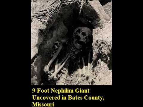 Nephilim Giant Uncovered in Bates County Missouri