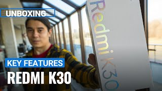 Xiaomi Redmi K30 unboxing and key features