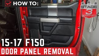 2015-2017 F-150 Door Panel Removal Tutorial