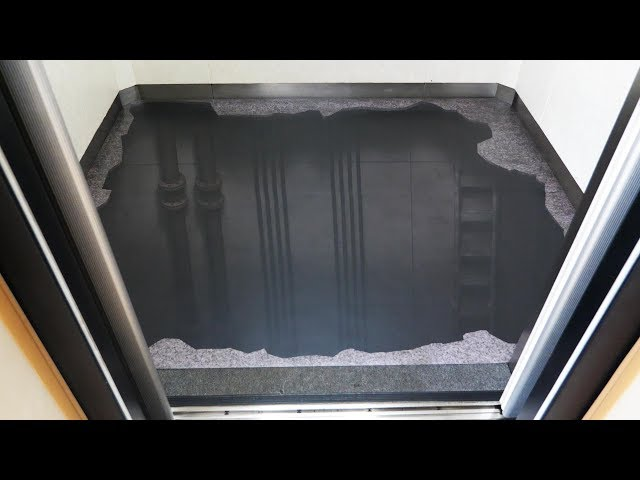 【超危険】エレベーターの床ないドッキリがヤバすぎたww