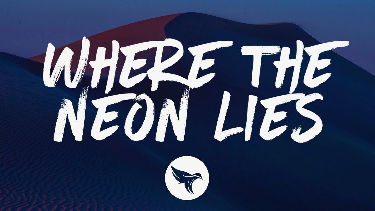 Triston Marez - Where the Neon Lies (with Ronnie Dunn) (Lyrics)