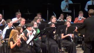 Tantasqua HS Concert Band plays Prestissimo March 3/12/2014